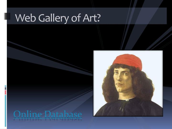 Web Gallery of Art?