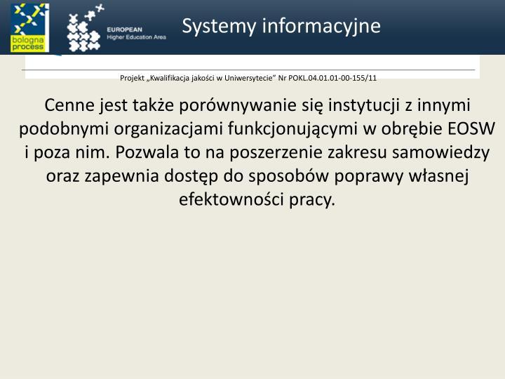 Systemy informacyjne