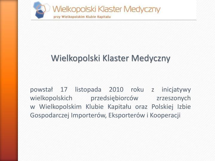 Wielkopolski Klaster Medyczny