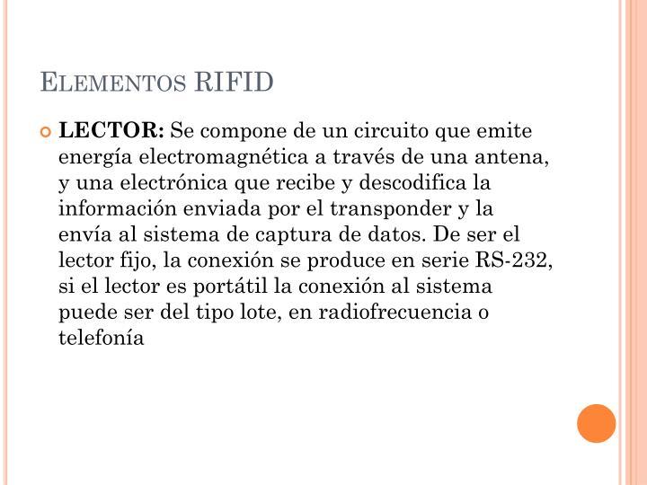 Elementos RIFID