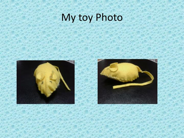 My toy Photo