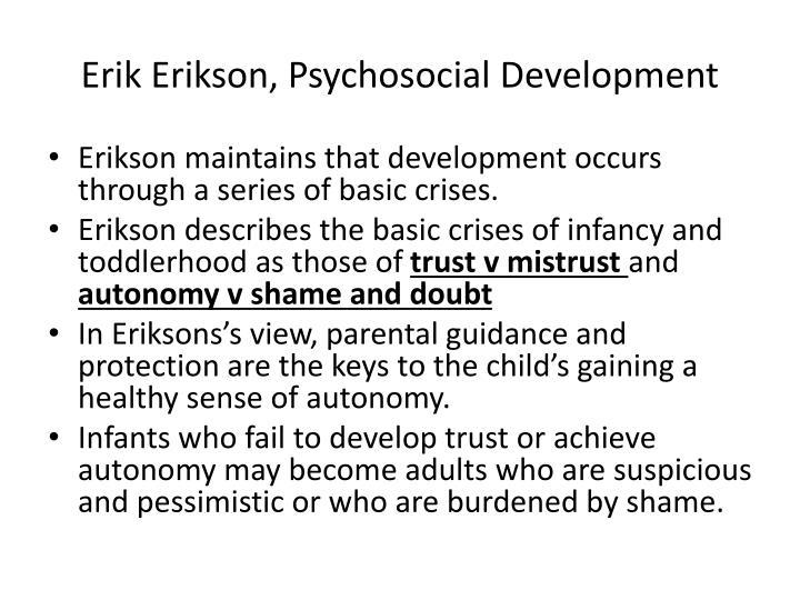 Erik Erikson, Psychosocial Development