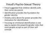 freud s psycho sexual theory