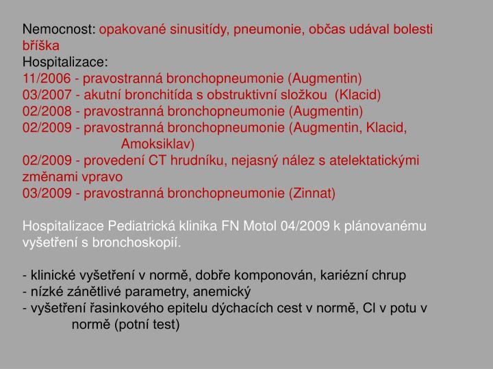 Nemocnost:
