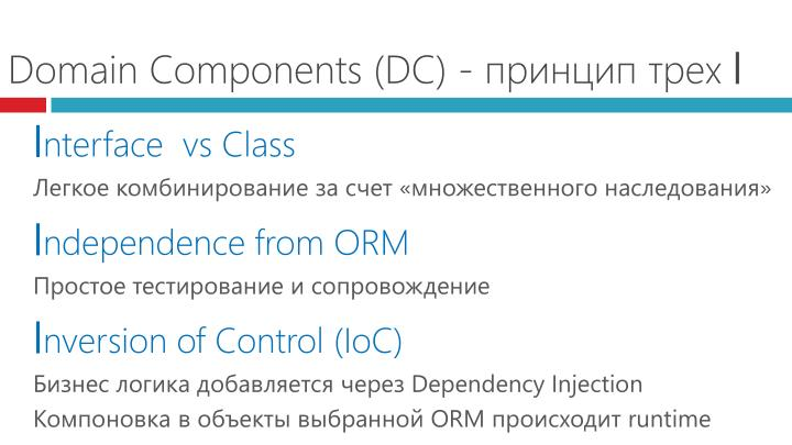 Domain Components