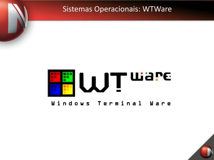 Sistemas Operacionais: