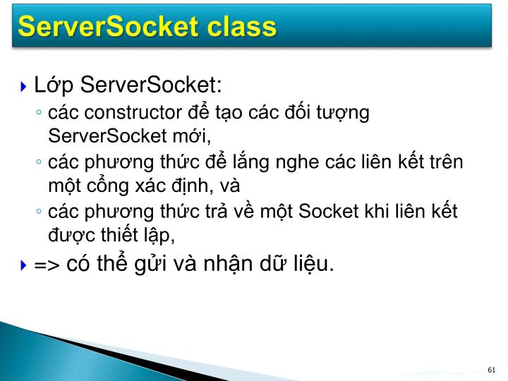 ServerSocket