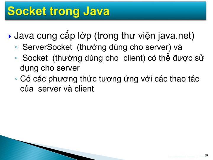 Socket trong Java