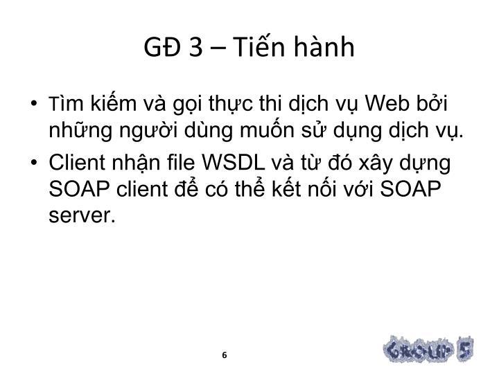 GĐ 3 –