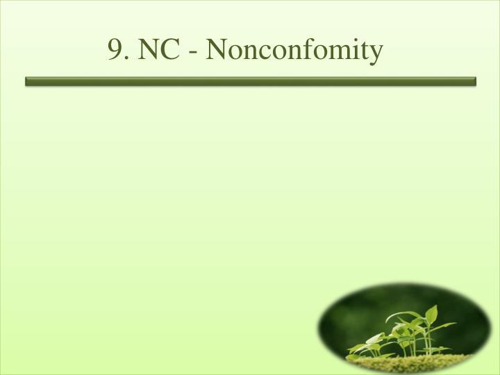 9. NC -