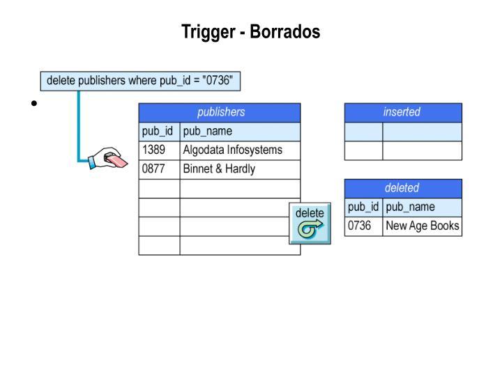 Trigger - Borrados