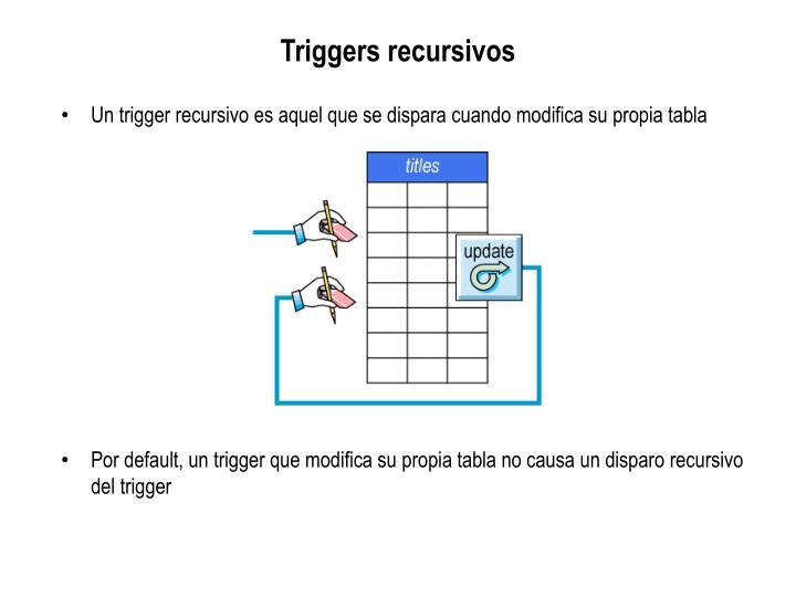 Triggers recursivos