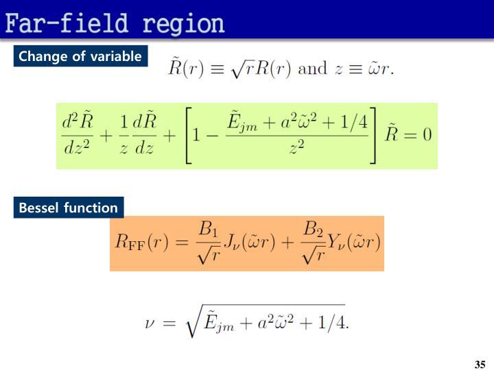Far-field region
