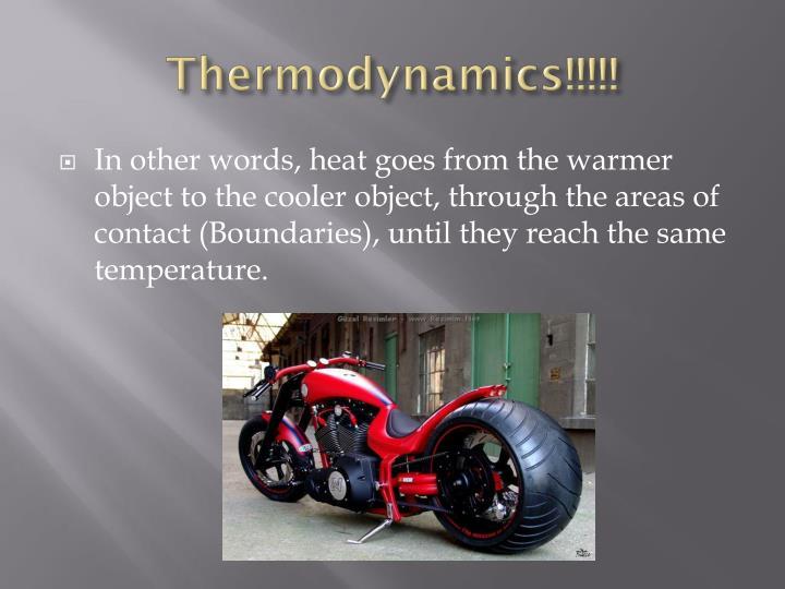 Thermodynamics!!!!!