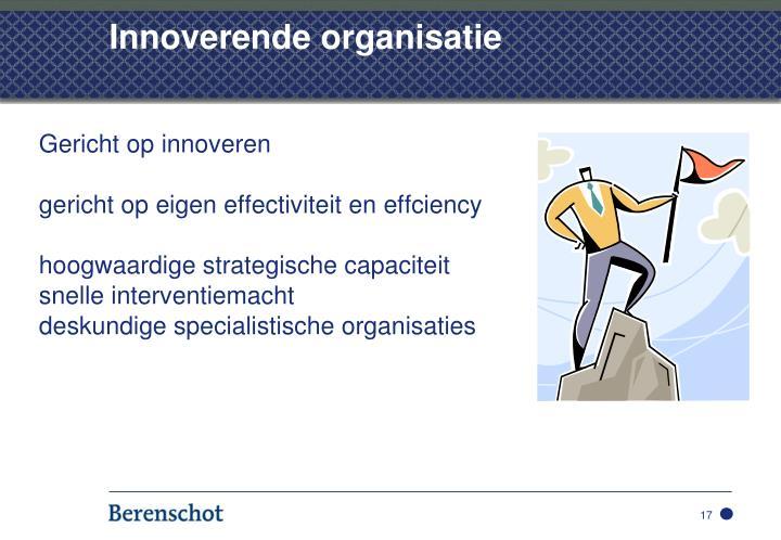 Innoverende organisatie