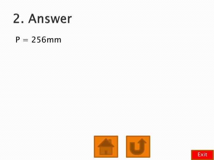 2. Answer