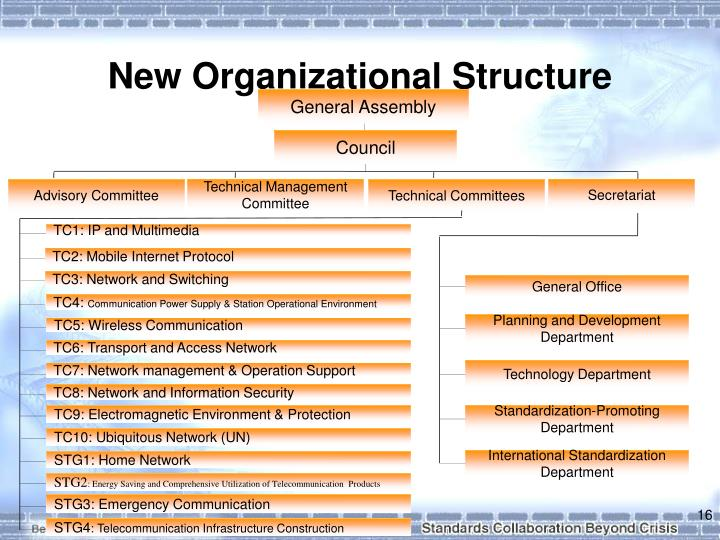 New Organizational Structure