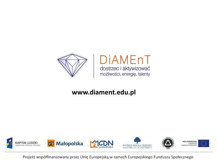 www.diament.edu.pl