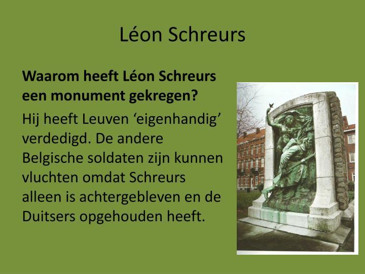 Léon Schreurs