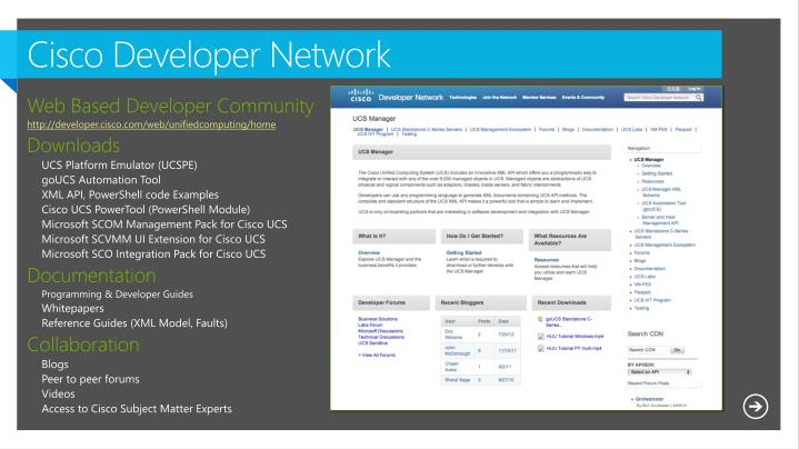Cisco Developer Network