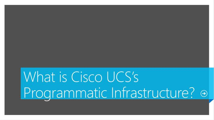 What is Cisco UCS's