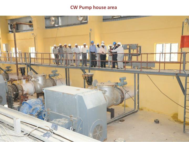 CW Pump house area