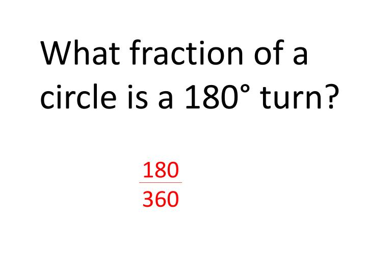 What fraction of a