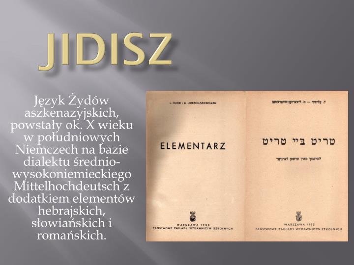 Jidisz