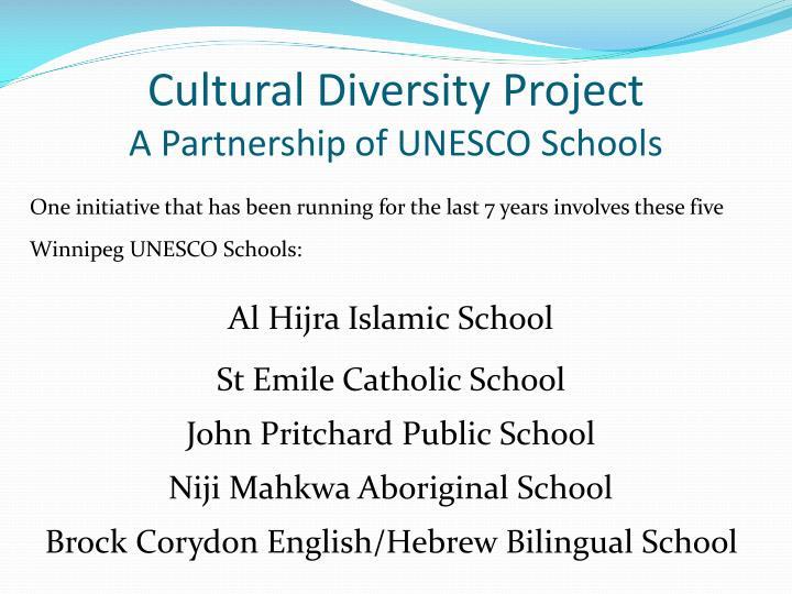 Cultural Diversity Project