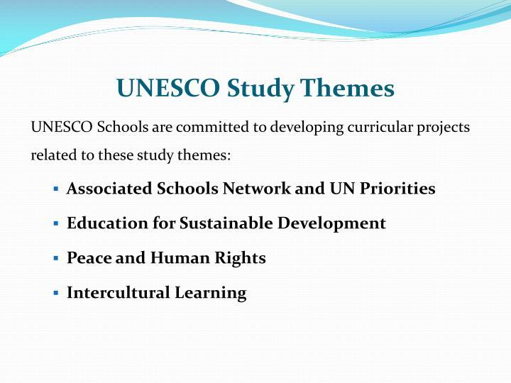 UNESCO Study Themes