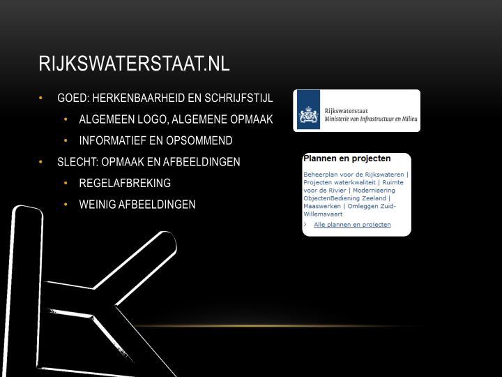 RIJKSWATERSTAAT.NL