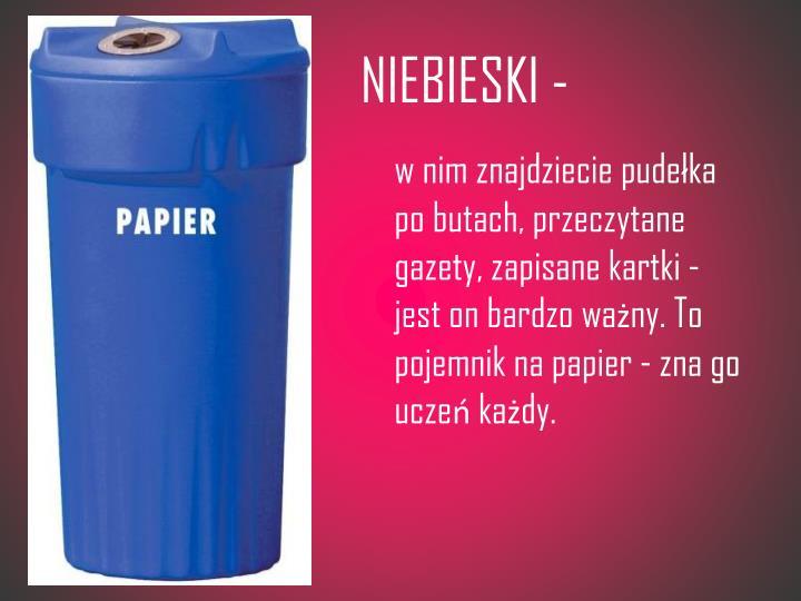 NIEBIESKI -