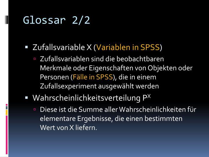Glossar 2/2