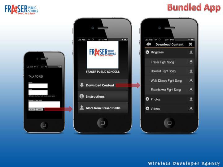Bundled App