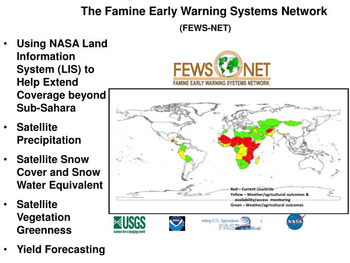 The Famine Early Warning Systems Network