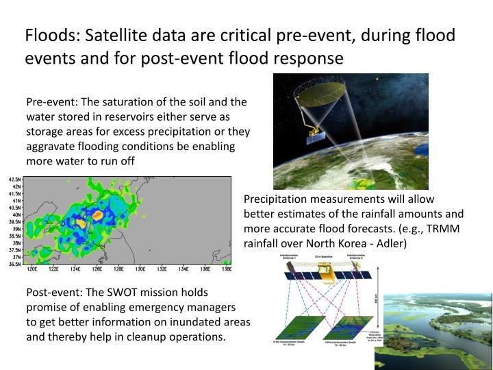 Floods: Satellite