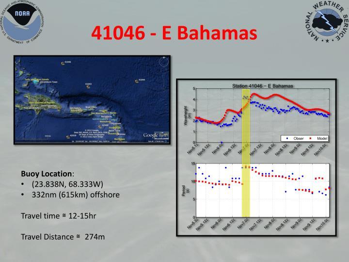 41046 - E Bahamas