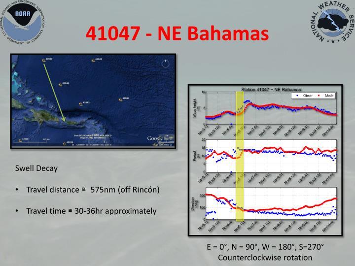 41047 - NE Bahamas