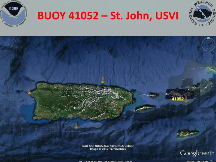 BUOY 41052 – St. John, USVI