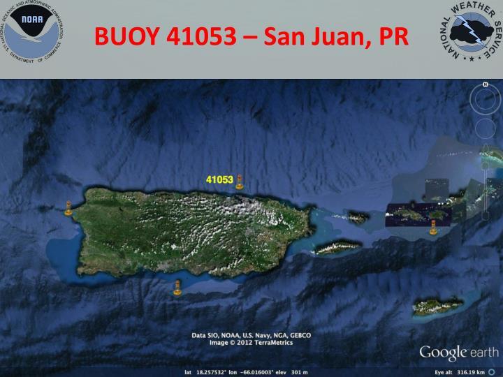 BUOY 41053 – San Juan, PR