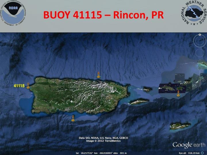 BUOY 41115 – Rincon, PR