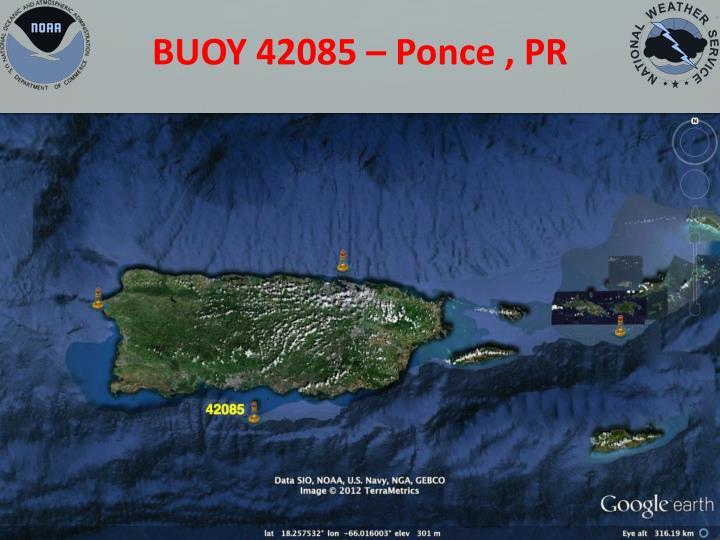 BUOY 42085 – Ponce , PR