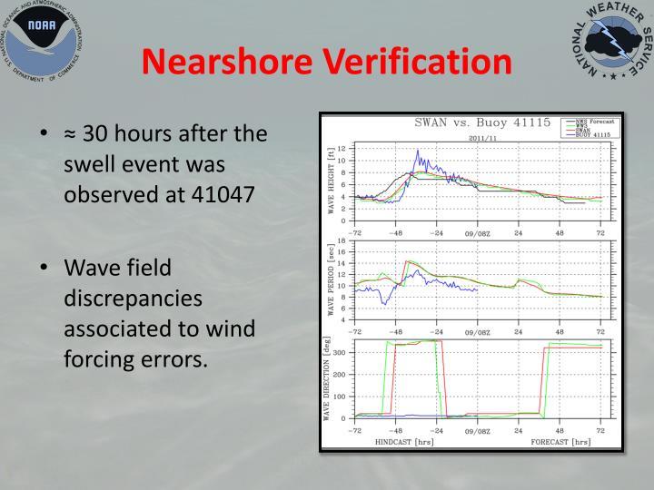 Nearshore Verification