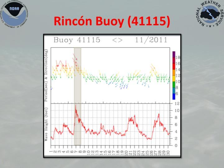Rincón Buoy (41115)