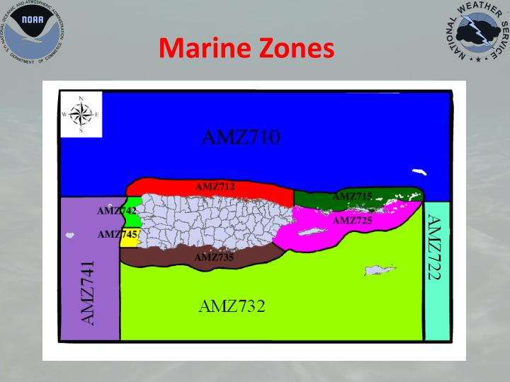 Marine Zones