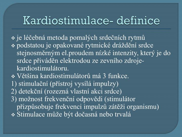 Kardiostimulace