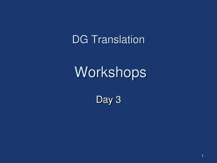 DG Translation