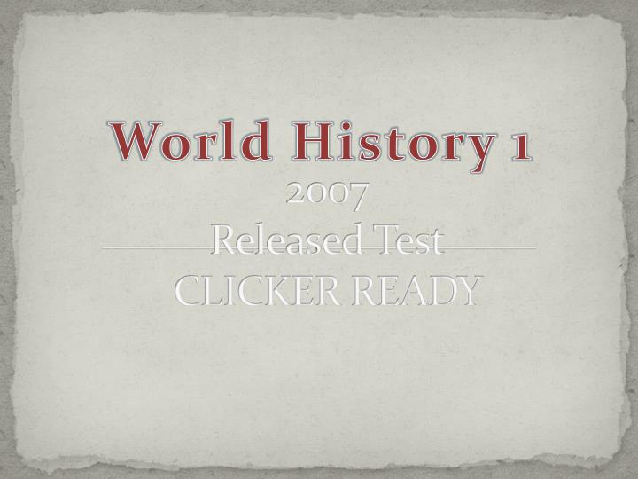2007 released test clicker ready