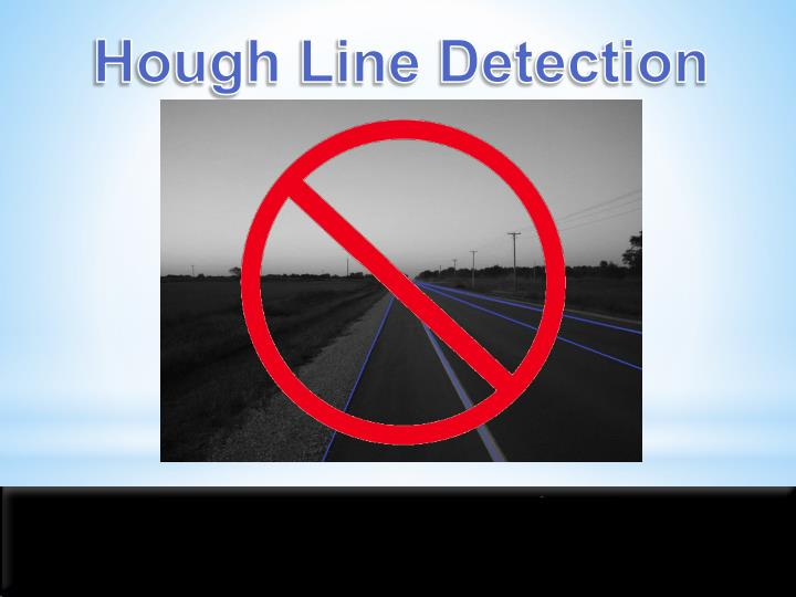Hough Line Detection