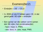 examencijfer 2